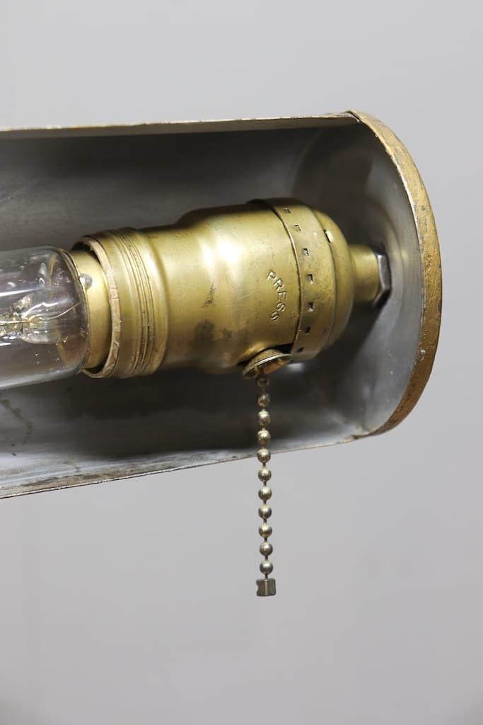 SL-24 デスクランプ ハンドペイント 真鍮ソケット 40s/ビンテージ アンティーク インダストリアル 工業系 照明 店舗什器 アメリカ スタンド_画像9