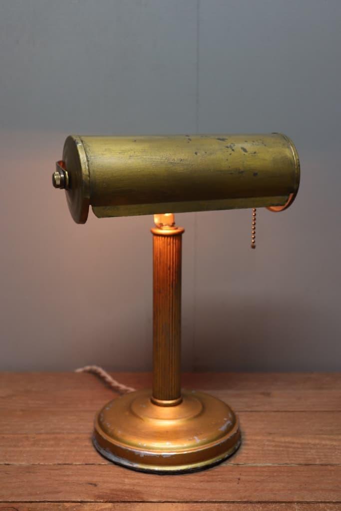 SL-24 デスクランプ ハンドペイント 真鍮ソケット 40s/ビンテージ アンティーク インダストリアル 工業系 照明 店舗什器 アメリカ スタンド_画像4