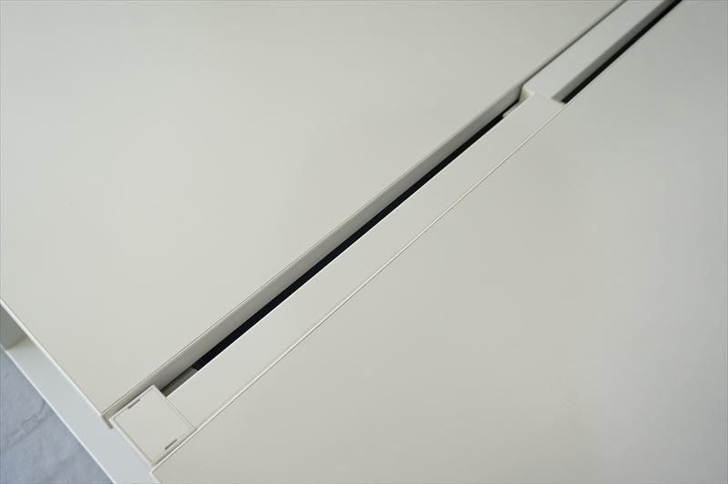 【大量在庫】【160席分】【中古】イトーキ インサラータ フリーアドレスデスク 4014 W2000天板×4枚 8席分 H720 ホワイト_画像7