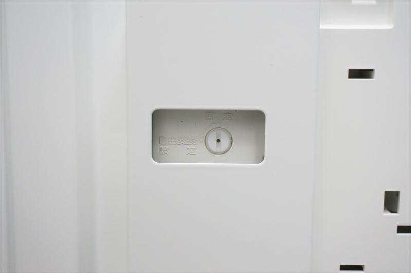 【大量在庫】【中古】コクヨ エディア ダイヤル式両開き書庫 天板付 H1130 ホワイト_画像7