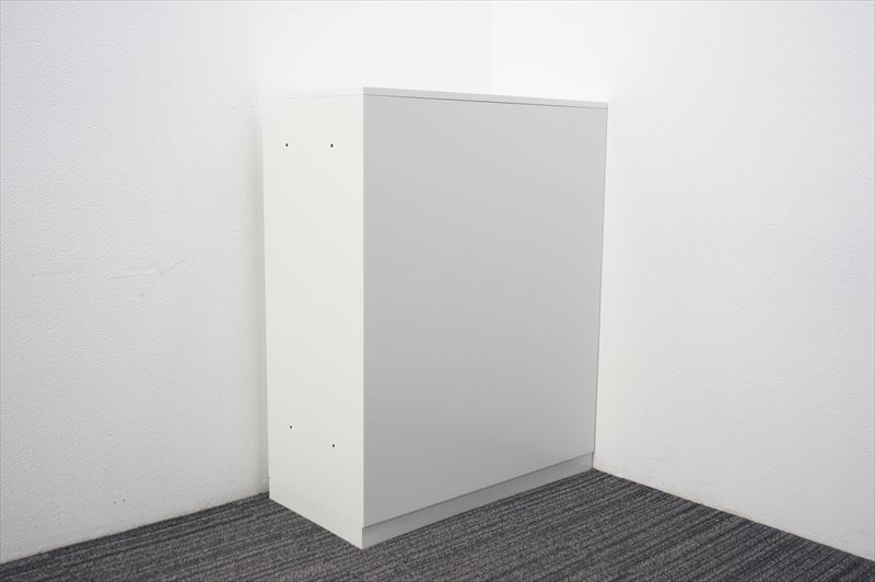 【大量在庫】【中古】コクヨ エディア ダイヤル式両開き書庫 天板付 H1130 ホワイト_画像10