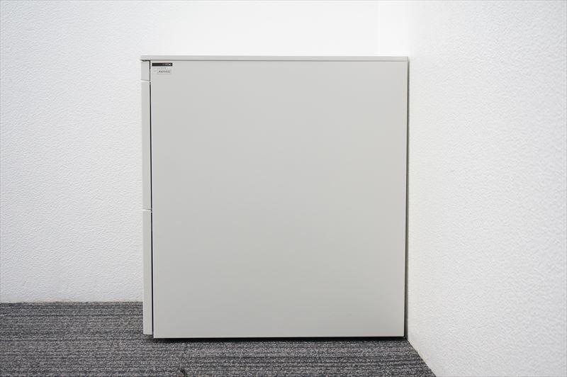 【送料無料】【大量在庫】【中古】【テレワーク】イトーキ CZR 3段ワゴン A4×2段 ペントレー付 H651 ホワイト フリーアドレスデスク対応_画像5