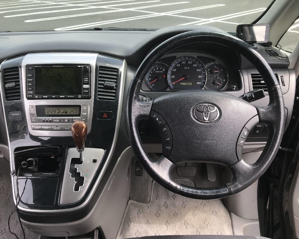 トヨタ H15年 アルファード G 3.0MS 車検付きすぐ乗れます! 検R4年7月まで タイミングベルト交換済み!_画像6