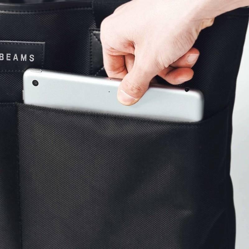 トートバッグ 付録 BEAMS 本 撥水 防水 バッグ トート 大きめ 新品