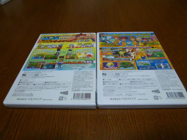 J42【送料無料】Wii ソフト セット イナズマイレブン ストライカーズ2013(クリーニング 動作確認済)まとめ