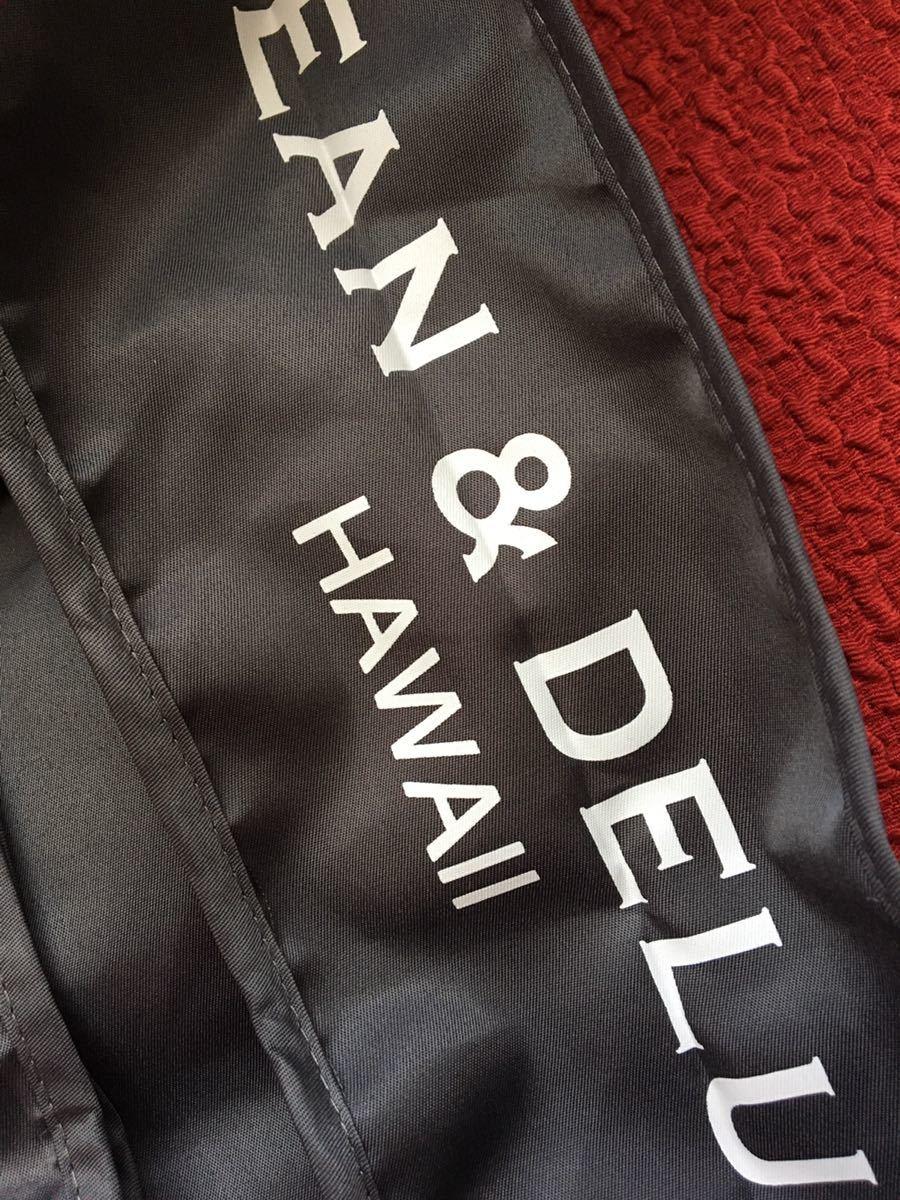 【 DEAN&DELUCA 】数量限定 エコバッグ Hawaii ハワイ 限定 ショッピングバッグ グレー