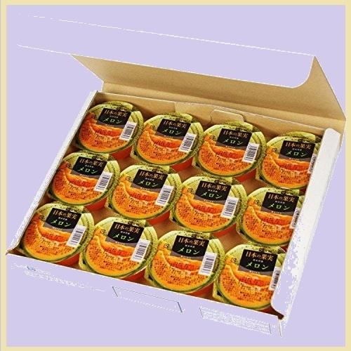 ☆☆まっさら新品 日本の果実 【九州旬食館】 9-TU セット 御歳暮 熊本県産 メロン ゼリー 155g× 12個 詰め合わせ_画像1