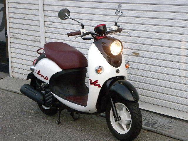 ヤマハ(YAMAHA)ビーノ VINO XC50 2014年モデル 走行43キロ 実走行 おまけヘルメット付き_画像1