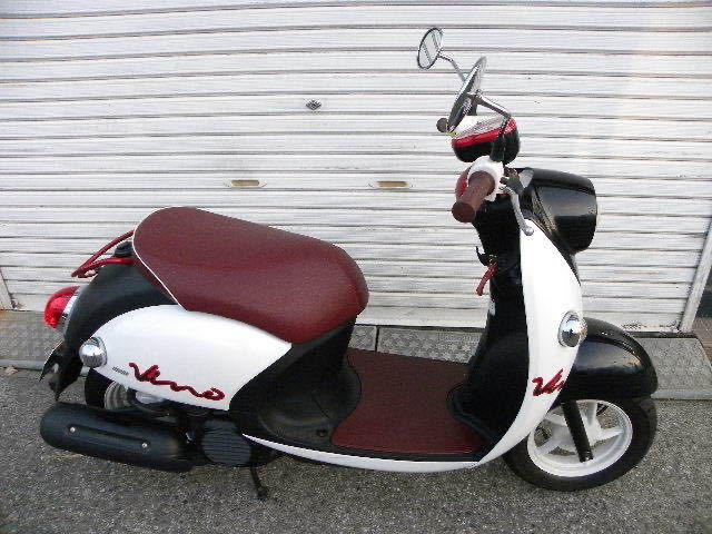 ヤマハ(YAMAHA)ビーノ VINO XC50 2014年モデル 走行43キロ 実走行 おまけヘルメット付き_画像2