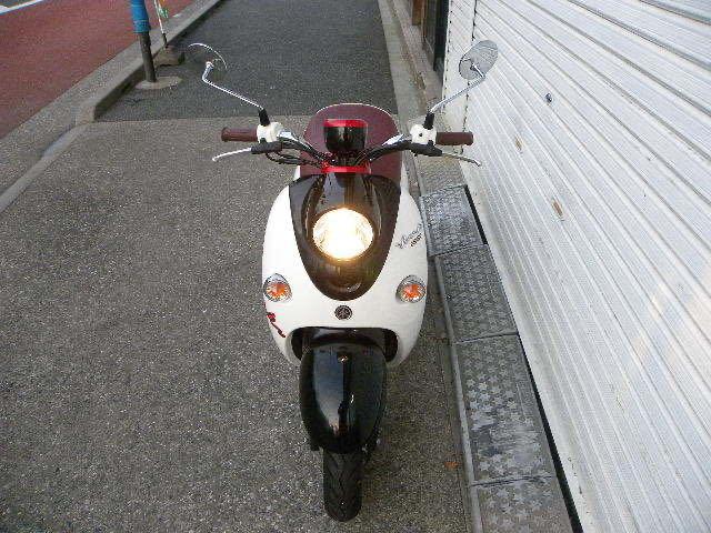 ヤマハ(YAMAHA)ビーノ VINO XC50 2014年モデル 走行43キロ 実走行 おまけヘルメット付き_画像4