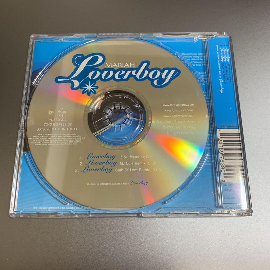 Mariah Carey マライア・キャリー Loverboy EU盤シングル 新品未使用