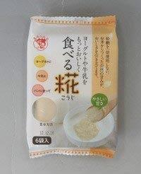 送料無料 砂糖を使わない米糀自然甘味・ヨーグルトや牛乳をもっとおいしく食べる糀(こうじ)【(1袋30gx6)x12袋入り価格】(1256036)伊豆フ_画像1