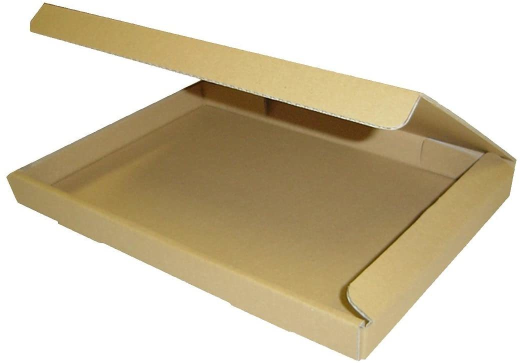 【新品・送料無料】桐パックダンボール箱ゆうパケット・クリックポスト用(段ボール箱)A4サイズ50枚(外寸:325×240×29_画像1