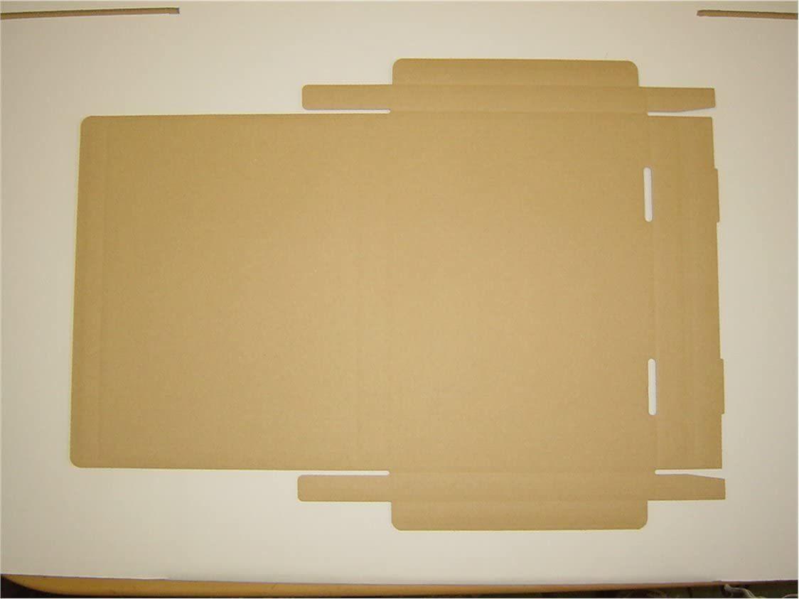 【新品・送料無料】桐パックダンボール箱ゆうパケット・クリックポスト用(段ボール箱)A4サイズ50枚(外寸:325×240×29_画像3