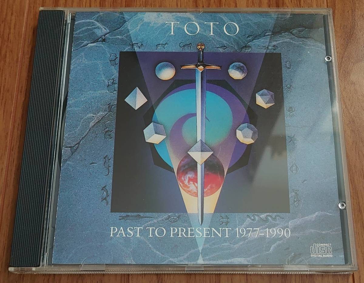CD『グレイテスト・ヒッツ / TOTO』「PAST TO PRESENT 1977-1990 / TOTO」