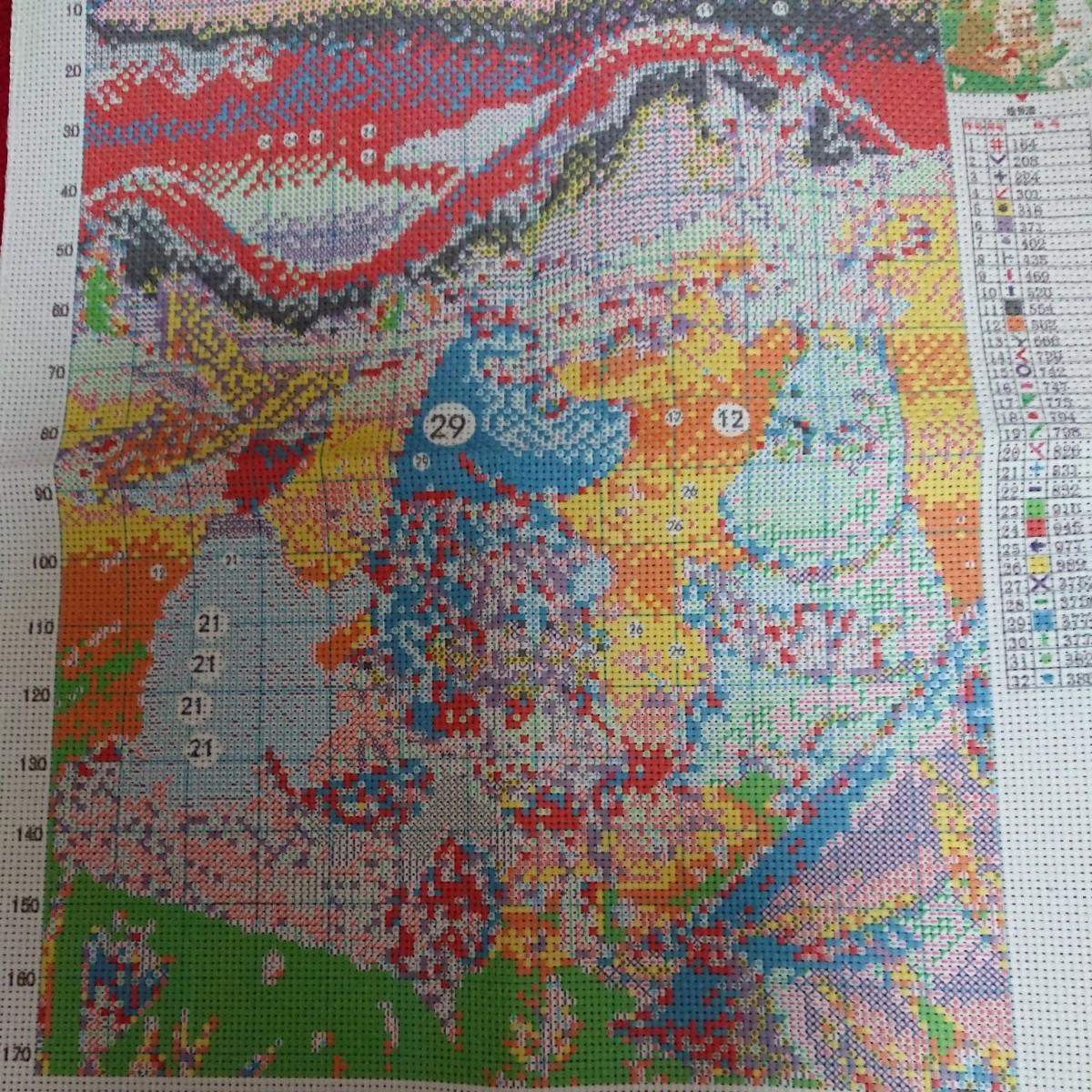 クロスステッチ刺繍キット(c242)