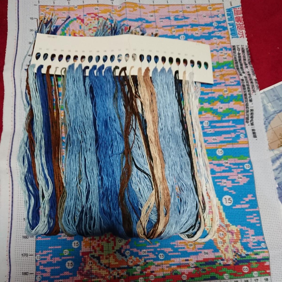 クロスステッチ刺繍キット(J0257)