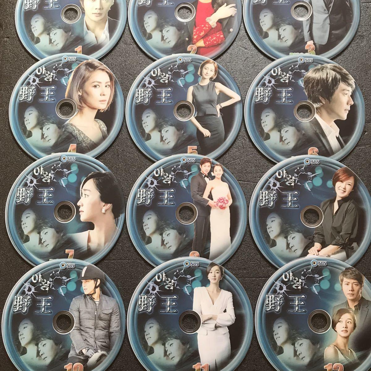 韓国ドラマ 野王 DVD