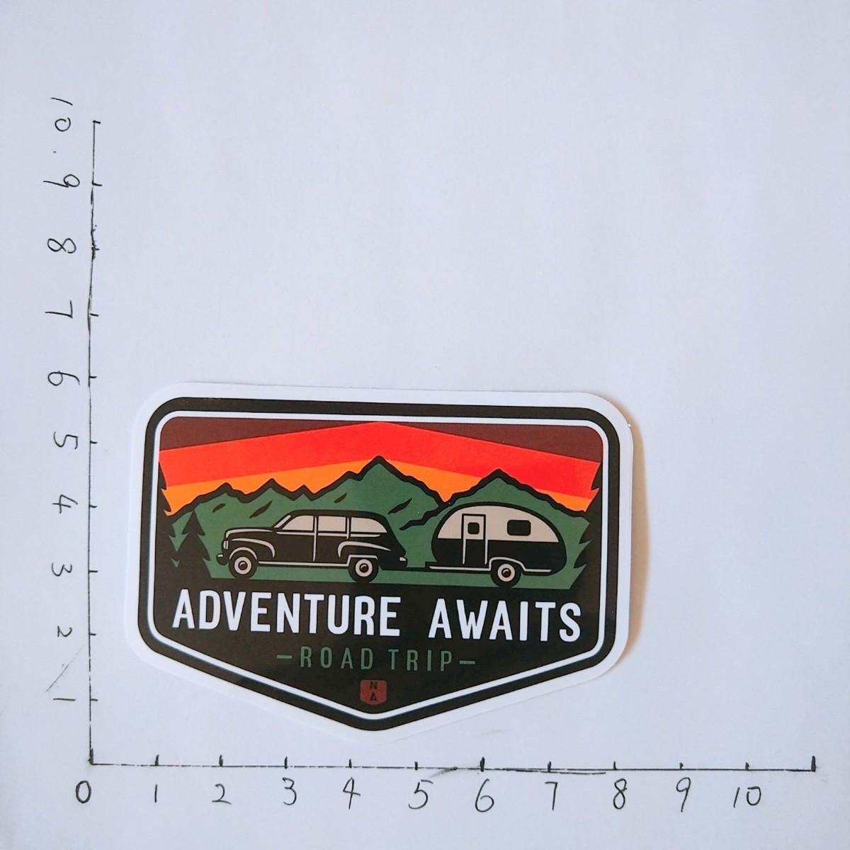 アウトドアステッカー50枚 登山 キャンプ