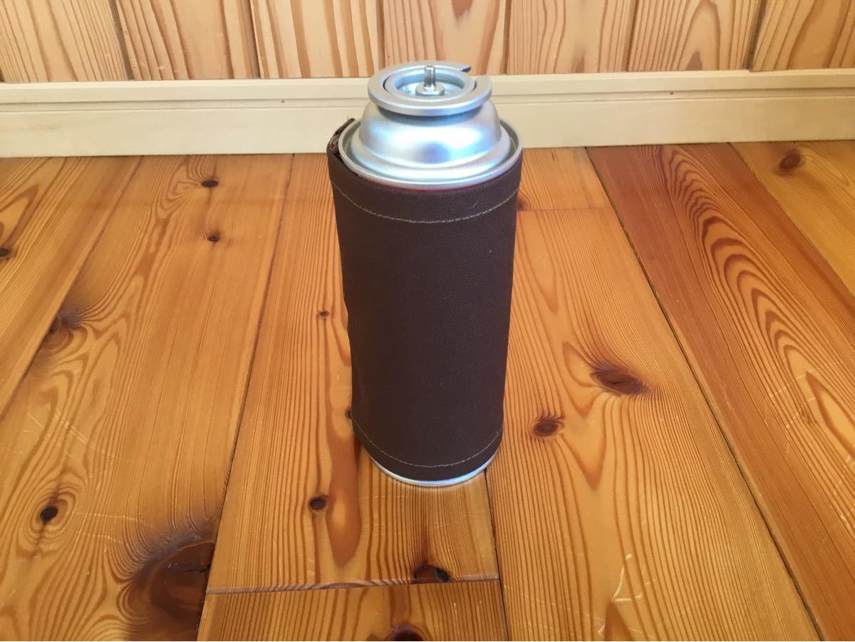 CB缶カバー(ブラウン帆布)日本製帆布使用!