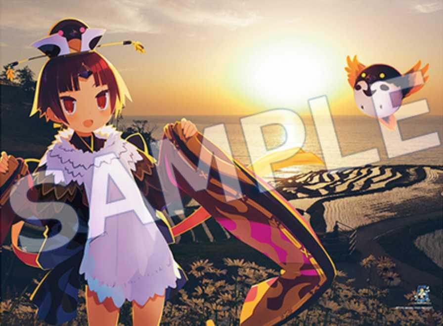 【送料無料】Fate/GrandOrder 5th Anniversary タペストリー 紅閻魔 under the same sky FGO_画像1