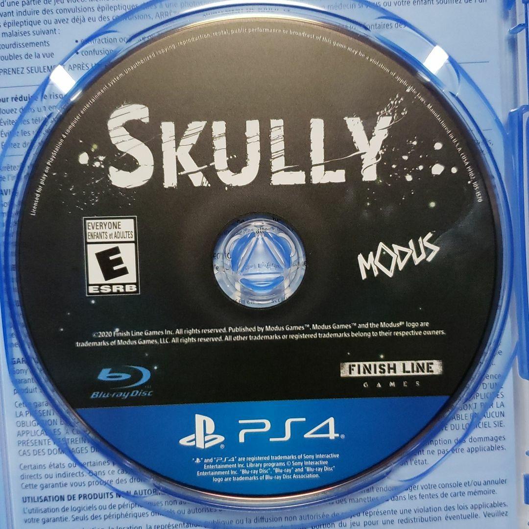 PS4 SKULLY 北米版