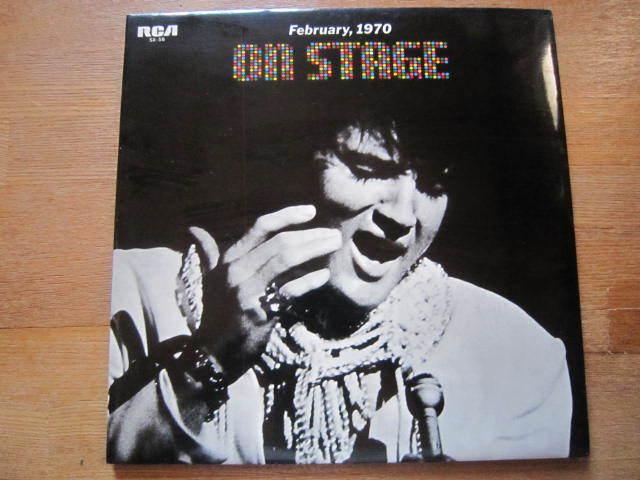 ■ エルヴィス・プレスリー(ELVIS PRESLEY )/  ~ February 1970 - On Stage - / 国内盤LPレコード_画像1