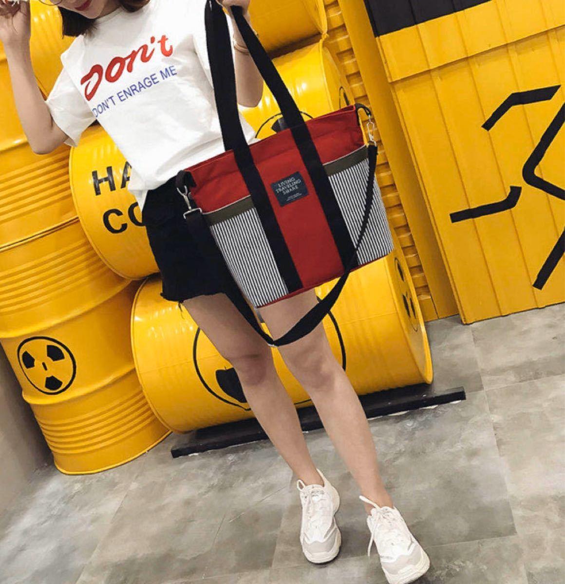 トートバッグ ショルダーバッグ ロゴ キャンバス 大容量