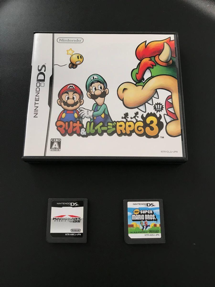 マリオカート ニュースーパーマリオブラザーズ マリオ&ルイージRPG3 DS
