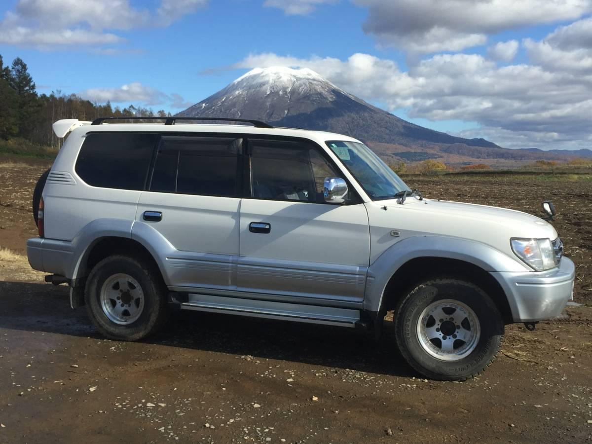 「美品 ランドクルーザー プラド TXリミテッド 4WD ディーゼル 車検:令和3年12月まで」の画像1