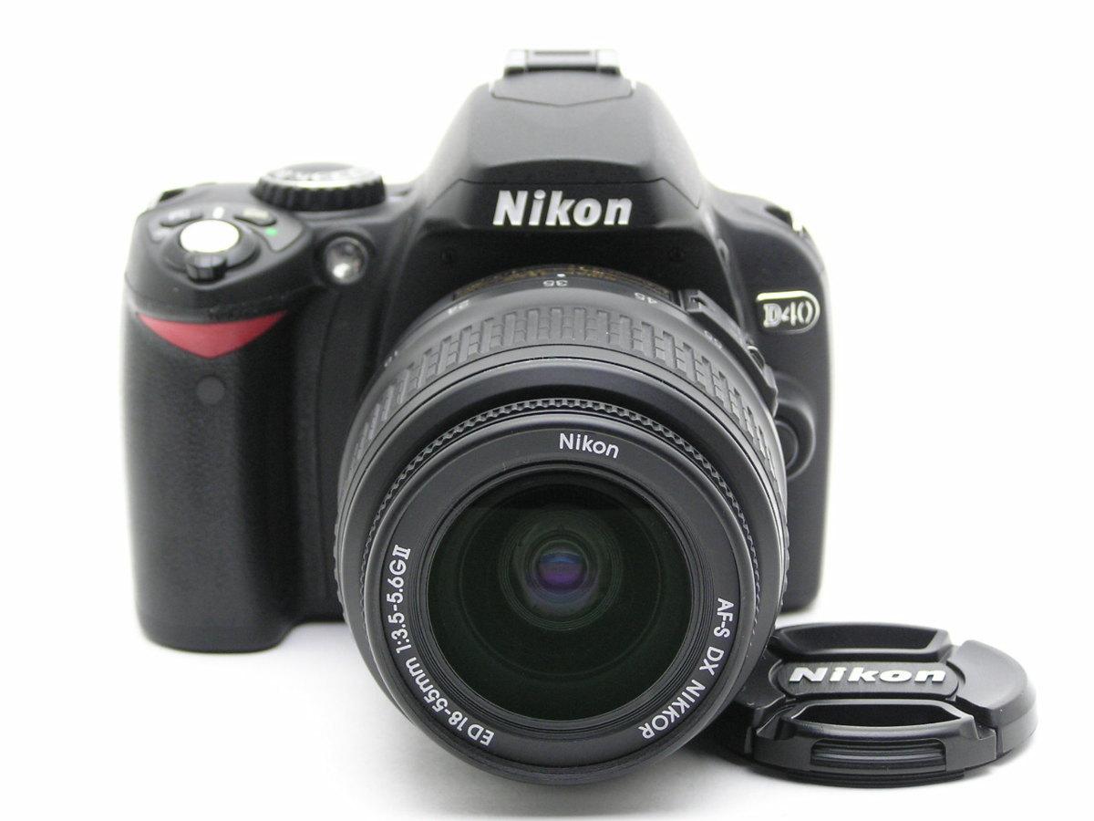 ★ハローカメラ★5641 Nikon D40 ( AF-S DX NIKKOR ED 18-55mm F3.5-5.6GⅡ) 「本体、レンズのみ」 難有 動作品  現状  1円スタ-ト