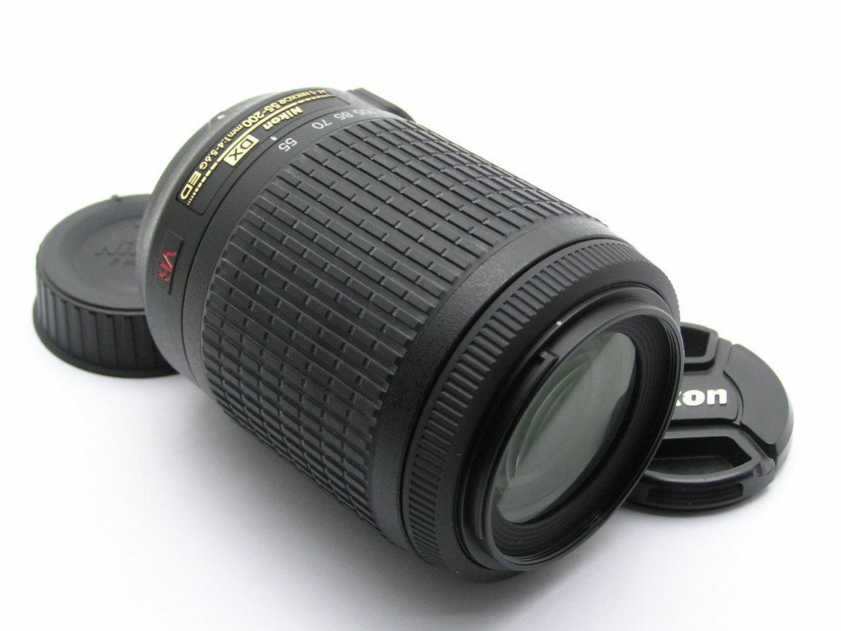 ★ハローカメラ★5652 Nikon DX AF-S NIKKOR ( 55-200mm F4-5.6 G ED ) 動作品 ジャンク 要清掃 1円スタ-ト 外観は綺麗