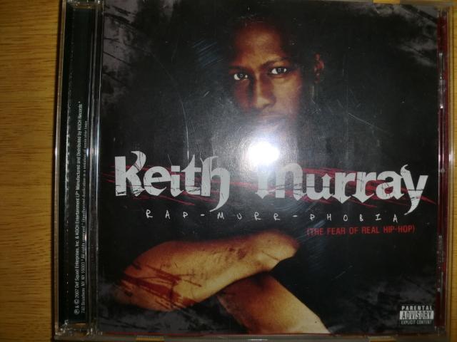 美品 Keith Murray [Rap-Murr-Phobia][East] Def Squad method man lil jamal red man erick sermon tone capone kell vicious ryze