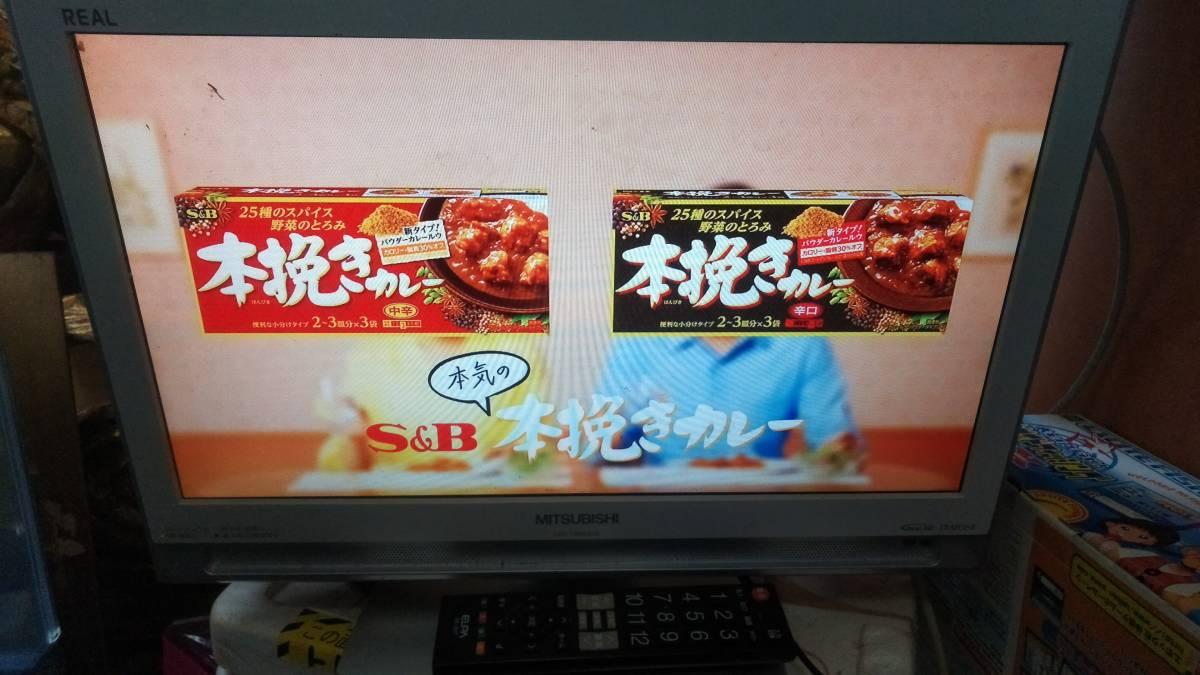 ★MITSUBISHI★REAL★19型テレビ★液晶地上デジタル★BS★CS対応_画像3