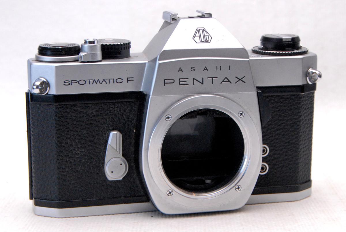 PENTAX ペンタックス 昔の高級一眼レフカメラ SP-Fボディ 希少な作動品