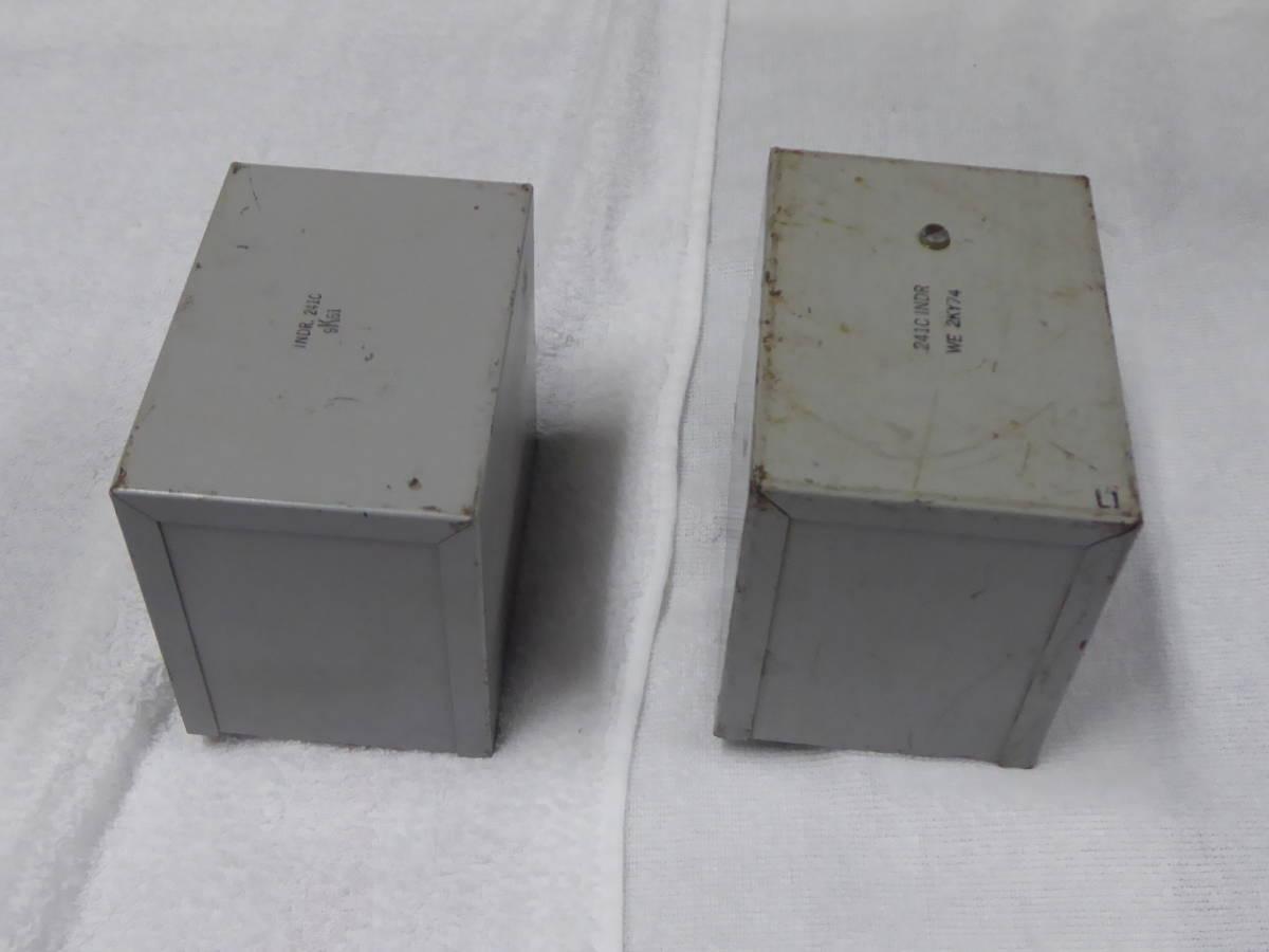 Western Electric ウェスタンエレクトリック チョークトランス 241C INDR WE 2個 _画像1