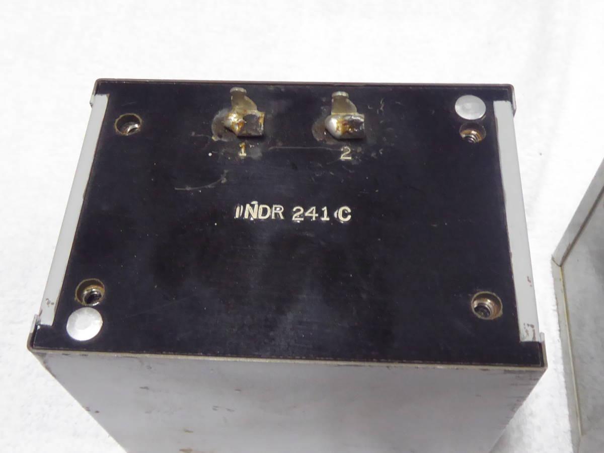 Western Electric ウェスタンエレクトリック チョークトランス 241C INDR WE 2個 _画像3