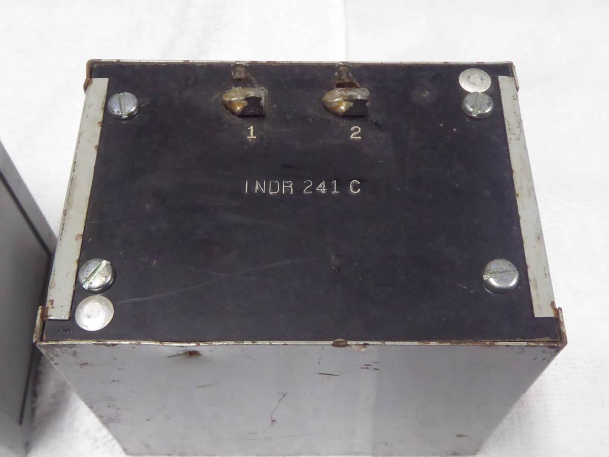 Western Electric ウェスタンエレクトリック チョークトランス 241C INDR WE 2個 _画像4