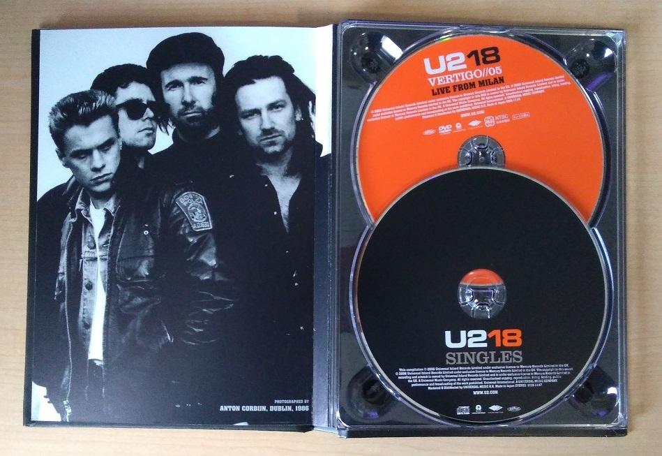 ザ・ベスト・オブU2 18シングルズ 初回限定盤CD+DVD