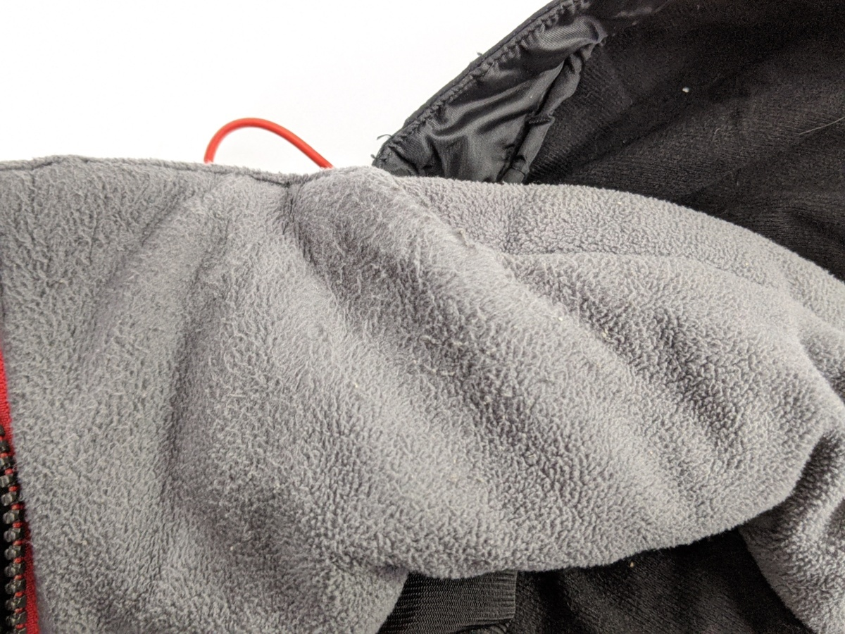 ダイワ レインマックス ハイパーフロント ウィンタースーツ Mサイズ DW-3402 サスペンダーバンド無し 釣り用 防寒着 防水 透湿 上下セット_画像7
