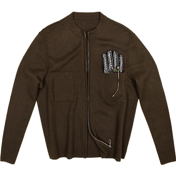 別格のカシミヤ50%◎!!!「HERMES/エルメス」徹底的にシンプルながらセンスの良さが滲み出る!一流のエグゼの為のジップニットジャケット