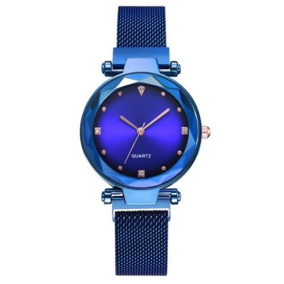 女性 腕時計 ラインストーン クォーツ 時計 レ ディース ウォッチ S2249_青