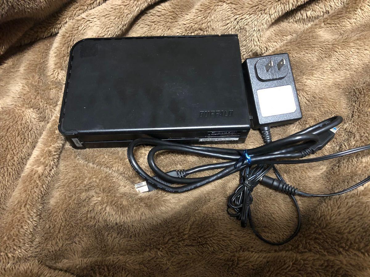 外付け1TB HDD BUFFALO HD-LB1.0TU3