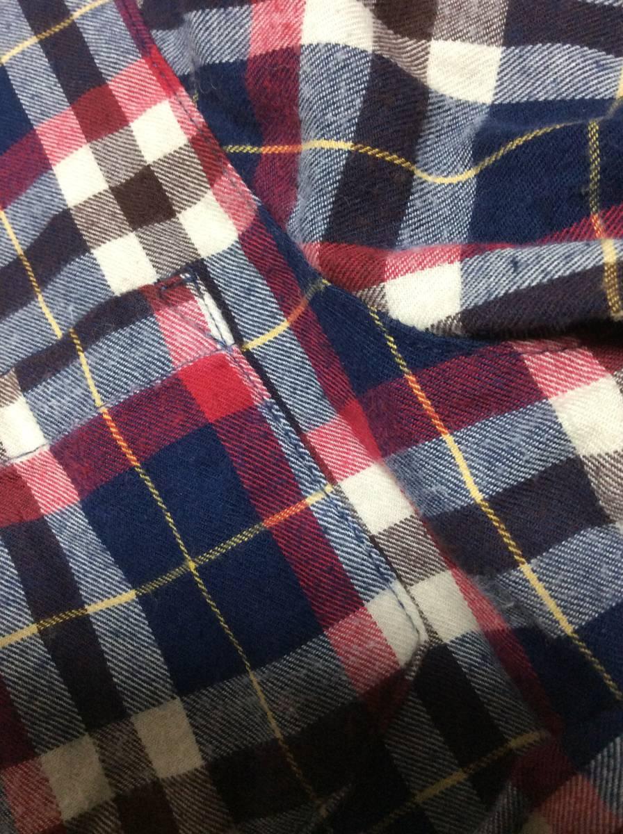 ページボーイ チエックシャツ フリーサイズ