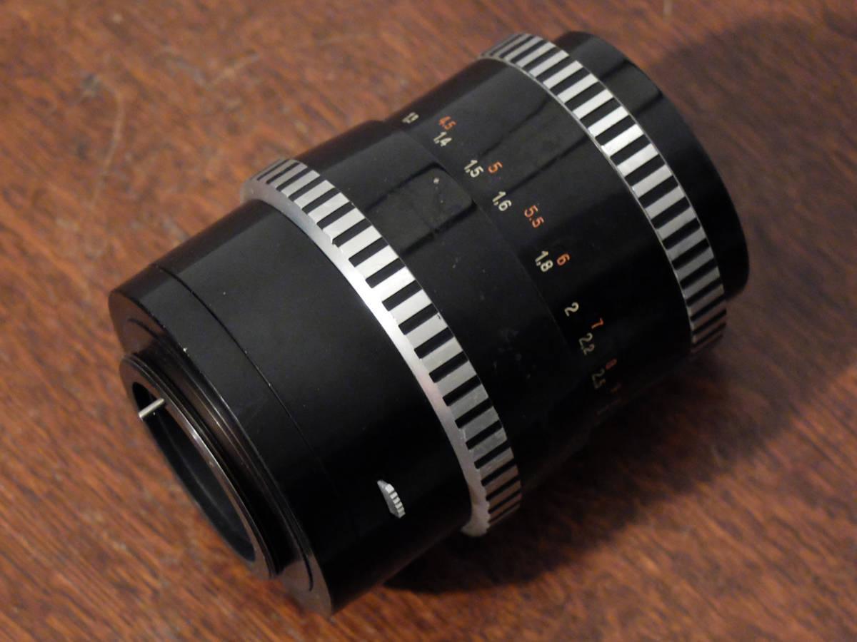 【中古/稀少/ジャンク〉カールツァイスイエナ ゾナー 135mm f4 (M42) : Carl Zeiss Jena Sonnar 135mm f4 (M42)_画像7