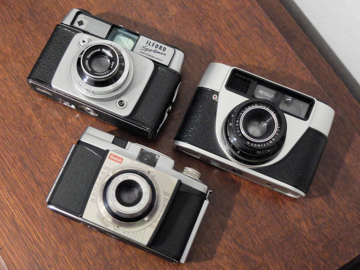 【ジャンク】ジャンクカメラ3台セット〈コダック カラースナップ35/レグラ スプリント/イルフォード スポーツマン〉_画像6