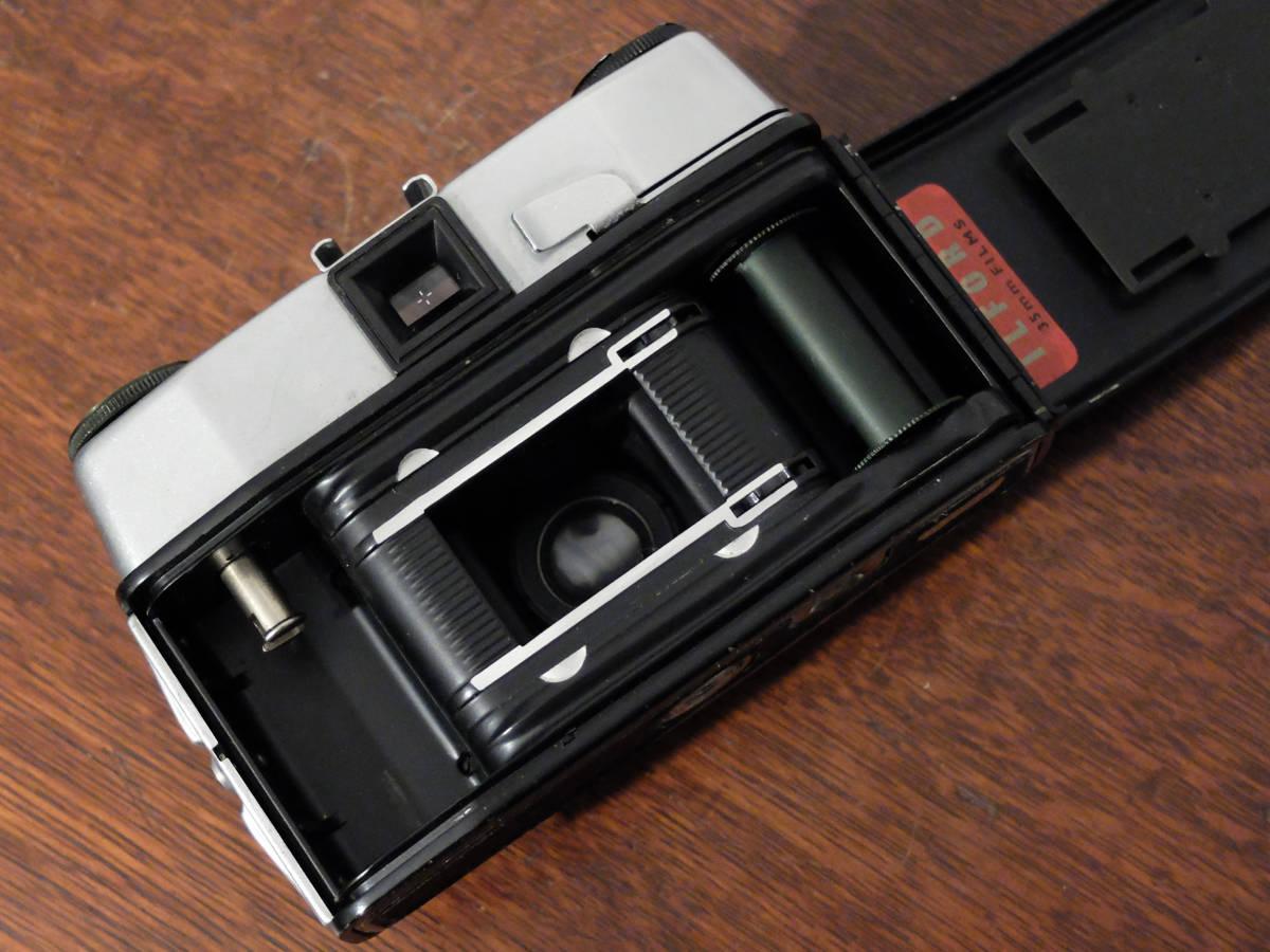【ジャンク】ジャンクカメラ3台セット〈コダック カラースナップ35/レグラ スプリント/イルフォード スポーツマン〉_イルフォード スポーツマン