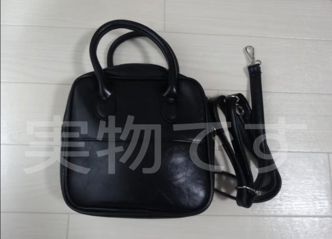 ショルダーバッグ レディース ハンドバッグ トートバッグ 韓国 ブラック