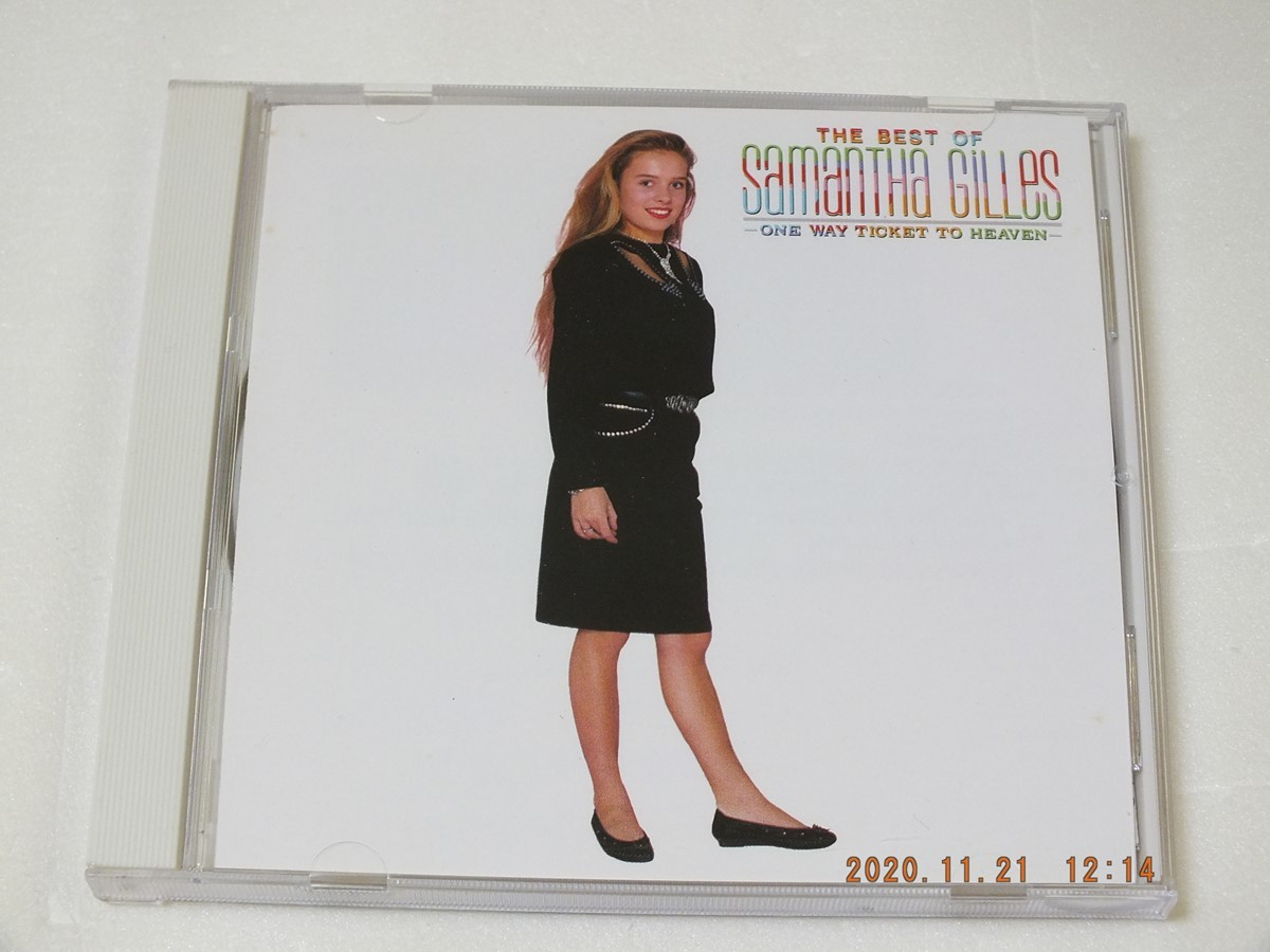 CD THE BEST OF Samantha Gilles ~ONE WAY TICKET TO HEAVEN~ 管理4