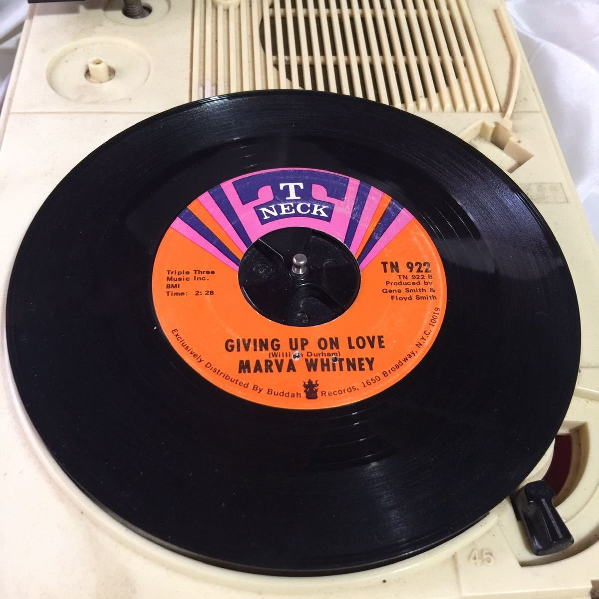 james brown のファミリーの中で 問答無用の激入手困難盤 Marva Whitney Giving Up On Love/This Is My Quest
